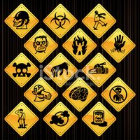 Yellow Signs - Zombie Infestation