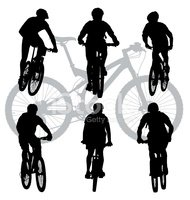 Bicycle,Cycling,Silhouette,...