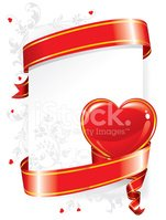Swirl,Ribbon,Frame,Heart Sh...