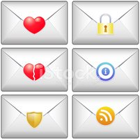 Mail,Heart Shape,Label,rss,...