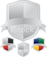 Shield,Silver Colored,Badge...