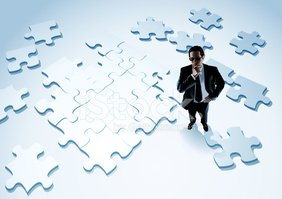 Business,Puzzle,People,Orga...