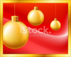 Gold Colored,Sphere,Red,Gol...