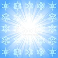 Snowflake,Glowing,Vector,Wh...