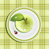 Plate,Pattern,Granny Smith ...