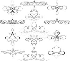 Scroll Shape,Vector,Ornate,...