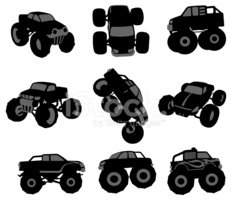 Monster Truck,Truck,Off-Roa...