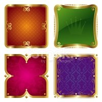 Nobility,Banner,Gold Colore...