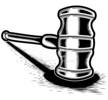Gavel,Auction,Law,Justice -...
