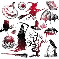 Vampire,Witch,Ghost,Book,Ra...