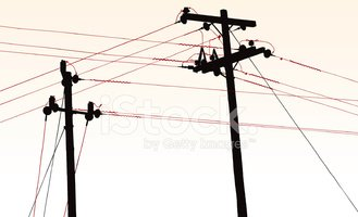 Utility Pole Stock Vector Illustration And Royalty Free Utility Pole Clipart