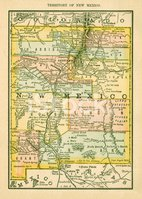 New Mexico,Map,Cartography,...