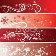 Christmas,Vector,Banner,Scr...