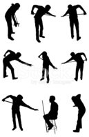 Pool Game,Sport,Silhouette,...