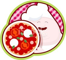 Pizza,Italy,Chef,Cartoon,Hu...