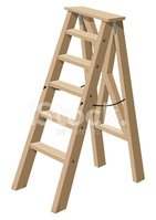 Ladder,Step Ladder,Wood - M...