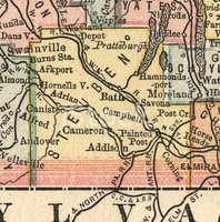 Map,Old,county,Old-fashione...
