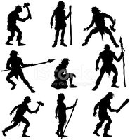 Caveman,Evolution,Hunter,Ne...