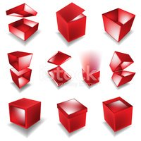 Box - Container,Red,Gift,Ho...