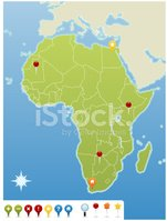 Africa,Map,West Africa,Worl...