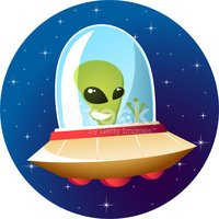 Alien,UFO,Spaceship,Space,C...