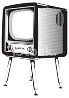 Television Set,Retro Reviva...
