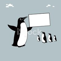 Penguin,Vector,Sign,Ilustra...