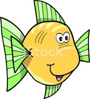 Fish,Cute,Cheerful,Illustrati…