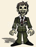Zombie,Politician,Cartoon,M...