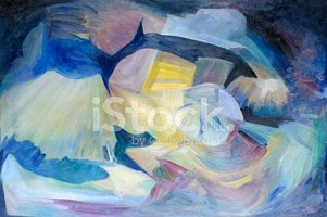 Fine Art Painting,Abstract,...