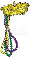 Mardi Gras,Bead,Mask,Jewelr...