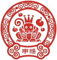 Chinese Zodiac Sign,Monkey,...