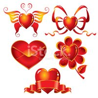 Butterfly - Insect,Heart Sh...