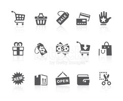 Symbol,Shopping,Computer Ic...