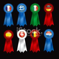 Italy,Award Ribbon,Greece,...