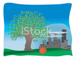 Tree,Urban Scene,City Life,...