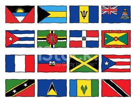 Flag,Caribbean,Dominican Re...