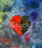 Love,Abstract,Heart Shape,G...