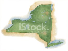 Map,New York State,Cartogra...