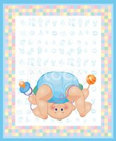 Baby,Greeting Card,Little B...