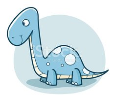 Dinosaur,Cartoon,Brontosaur...