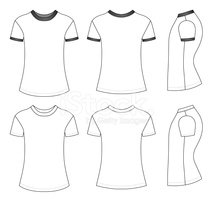 T-Shirt,template,Sleeve,Out...