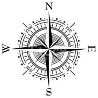 Compass,North,Direction,Jou...