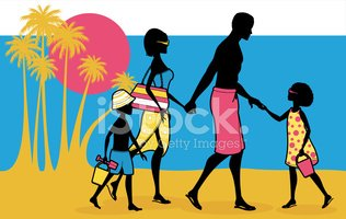 Family,Vacations,Silhouette...