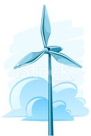 Wind,Turbine,Air,Vector,Ene...