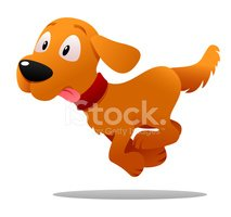 Dog,Cartoon,Running,Pets,Pu...