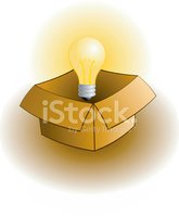 Light Bulb,Box - Container,...