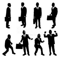 Silhouette,Briefcase,Men,Bu...
