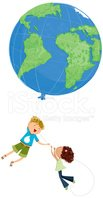 Child,Earth,World Map,Help,...