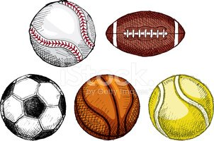 Soccer,Ball,Sketch,Football...